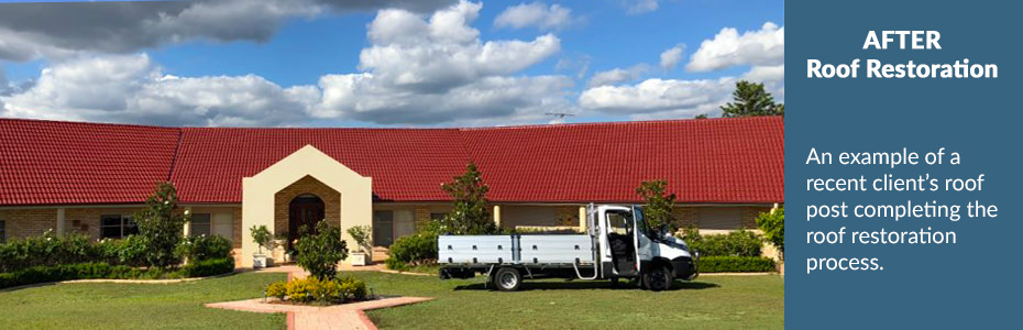 Coast & Country Roof Coatings - AFTER Roof Restoration   Hunter Valley, Port Stephens & Newcastle