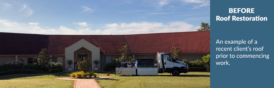 Coast & Country Roof Coatings - BEFORE Roof Restoration   Hunter Valley, Port Stephens & Newcastle
