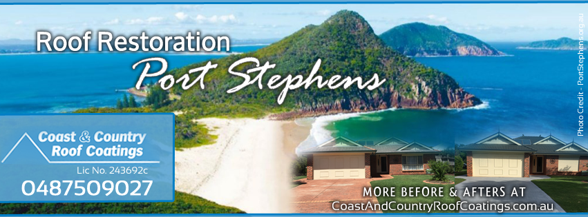 Port Stephens Roof Restoration - Roof Restoration Port Stephens